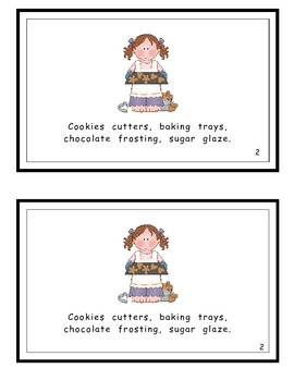 Christmas Cookies Guided Reader
