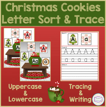 Christmas Cookies Letter Sort & Trace