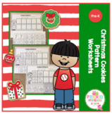 Christmas Cookies Pattern Worksheets