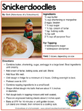 Christmas Cookies Recipe with FREEBIES