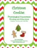 Christmas Cookies~ Rhyming and Alliteration Lessons