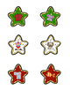 Christmas Cookies Uppercase/Lowercase and Letter Sound Matching