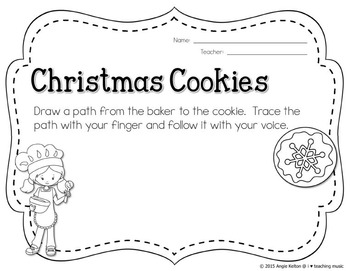 Christmas Cookies Vocal Exploration