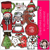 Christmas Cookies clip art- by Melonheadz
