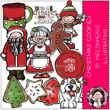 Melonheadz: Christmas Cookies clip art - COMBO PACK