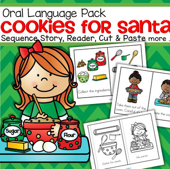 Christmas Cookies - oral language, sequencing, emergent reader, more
