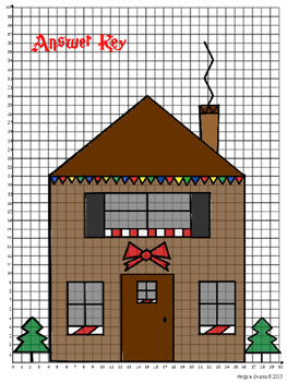 Christmas Coordinate Graph Mystery Picture Bundle