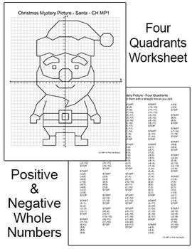 christmas math coordinate graphing santa reindeer elf gingerbread man. Black Bedroom Furniture Sets. Home Design Ideas