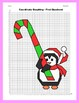 Christmas Coordinate Graphing Picture: Candy Cane