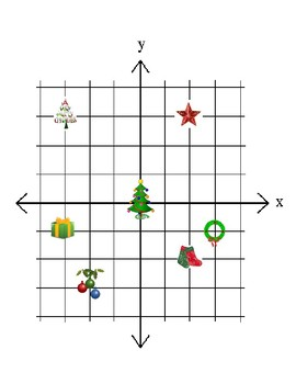 Christmas Coordinate Grid