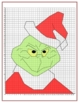 Christmas Coordinate Grid Picture