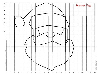 Christmas Coordinate Grids
