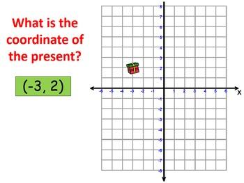 Christmas Coordinates: Plotting and reading coordinates wi