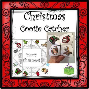 Christmas Cootie Catcher