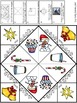 Christmas Cootie Catchers/Fortune Tellers: spelling, math