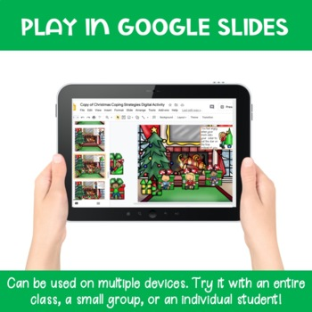 Coping Strategies Christmas Digital Activity