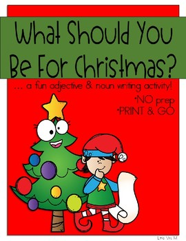 Christmas Costume Nouns and Adjectives