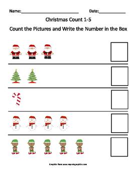 Christmas Count 1-5