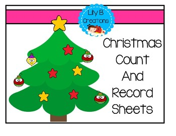 Christmas Count And Record Sheets