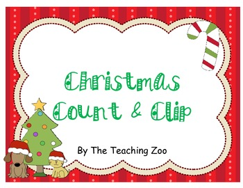 Christmas Count & Clip 1-20