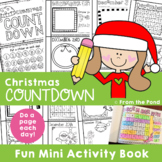 Christmas Activities {Christmas Countdown Book}