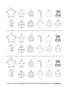 Christmas Countdown and Tree Garland Craftivity