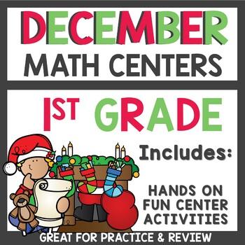 December Math Task Cards