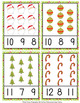 Christmas Count and Clip Cards Numbers 1-12
