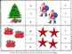 Christmas Count and Clip Math Task Cards Early Elementary, Special Education