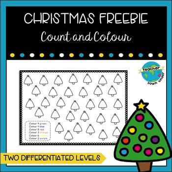 Christmas Count and Colour freebie