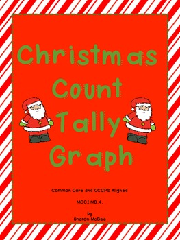 Christmas Count, Tally, Graph Graphing Activity