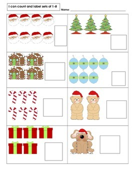 Christmas Count and Label