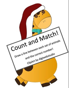 Christmas Count and Match!