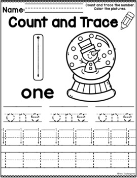 Christmas Count and Trace