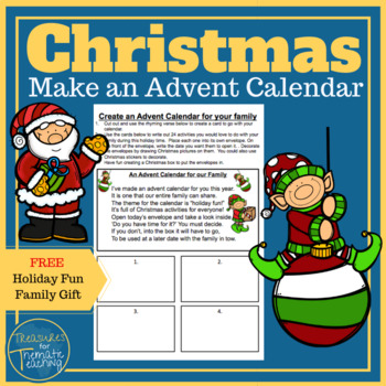 Christmas Count down ... A family fun advent calendar idea