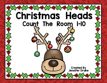 Christmas Count the Room 1-10