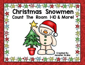 Christmas Count the Room 1-10 and More!