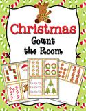 Christmas Count the Room Activity