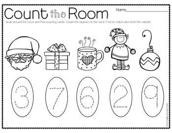 Count the Room for Little Learners (Christmas Edition)