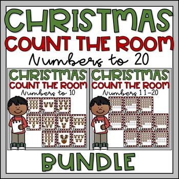 Christmas Count the Room to 20 BUNDLE