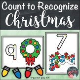 Christmas Count to Recognize Number Mats 0 to 10