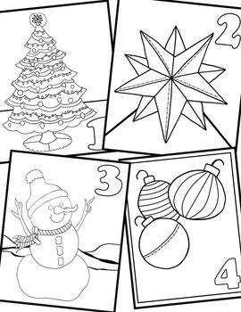 Christmas Coloring: Countdown