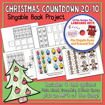 Christmas Countdown 20-10 Song & Singable Book Project