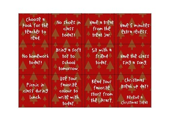 Christmas Countdown - A reward Advent Calendar