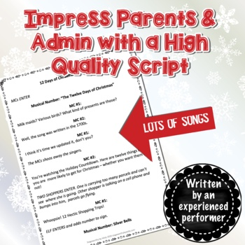 Christmas Concert: Christmas Countdown - An Original Christmas Play Script