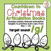 Christmas Countdown Articulation Book: /g/