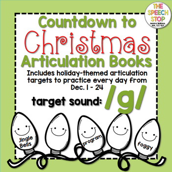 Christmas Countdown Articulation Book: /g/