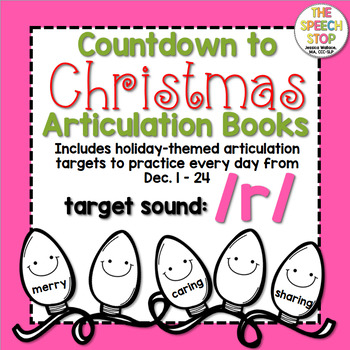 Christmas Countdown Articulation Book - /r/