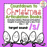 Christmas Countdown Articulation Book - /s/