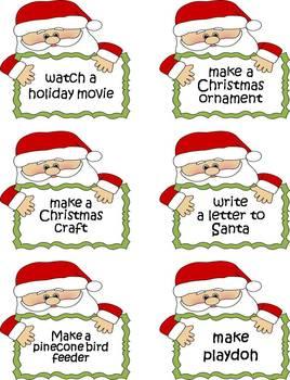 Christmas Countdown Balloon Slips {FREEBIE}